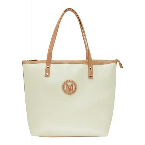 Bolsa Feminina Monica Sanches 3635 San Marino Off White