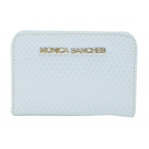 Carteira Feminina Monica Sanches 1263 Snake Ballad Blue